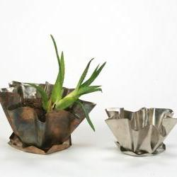 Staniless Steel Small Flower Pot